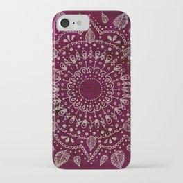 Wine Mandala iPhone Case