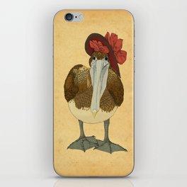 Plumpkin Ploshkin Pelican Jill iPhone Skin