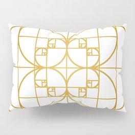Golden Splash Pillow Sham