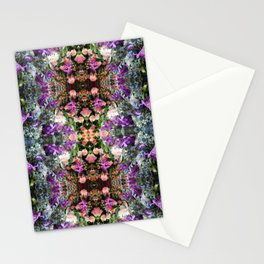 Bouquet Patterns Stationery Cards