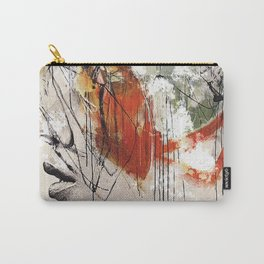 Abstract deconstruction ... Carry-All Pouch