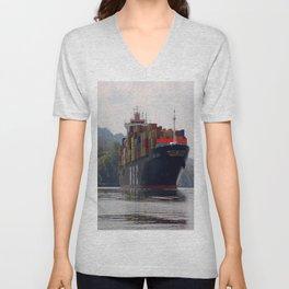 Cargo ship Unisex V-Neck