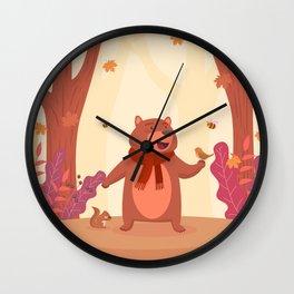 Bear in Heaven Wall Clock