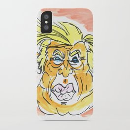 The Orange Menace iPhone Case