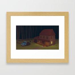 """""""Scenes of losses"""" Scene 01 Framed Art Print"""