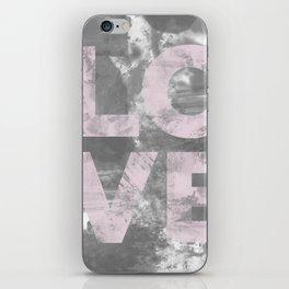LO VE iPhone Skin