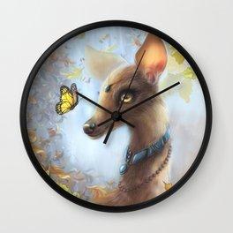 Pocafawntas Wall Clock