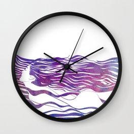 Water Nymph VI Wall Clock
