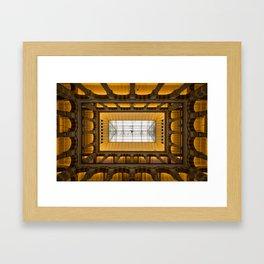 Amsterdam Shopping Center Lobby Architecture Framed Art Print
