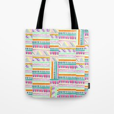 multicoloured AZTEC + Tote Bag