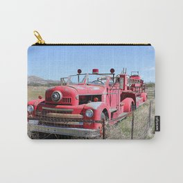 Abandoned Fire Truck Carry-All Pouch