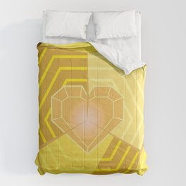 Exotic By Heart Comforters