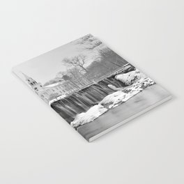 Milford Town in Winter Notebook