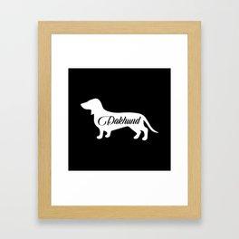 Dakhhund Framed Art Print