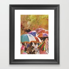 UNTITLED / DOPAMINE Framed Art Print