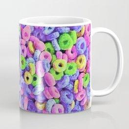 Fruit Loops Cereal Pattern Coffee Mug