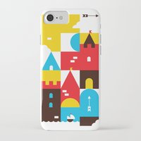 castle iPhone & iPod Cases featuring Castle by koivo