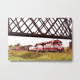 WSOR under the bridge Metal Print