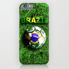 Old football (Brazil) Slim Case iPhone 6s