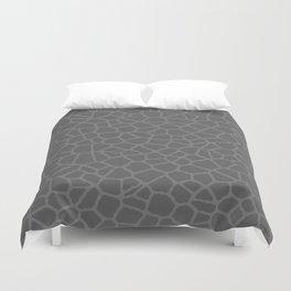 Staklo (Gray on Gray) Duvet Cover