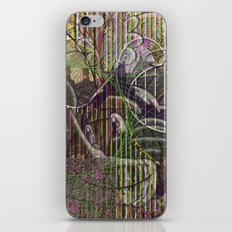 A Strict Code for Mourning Flowers iPhone Skin
