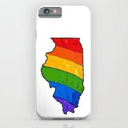 Illinois Pride iPhone Case