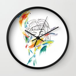 Beneath it all Wall Clock