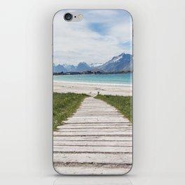Mountain Walkway iPhone Skin