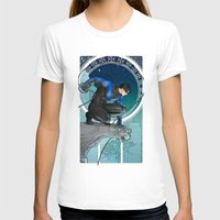 nightwing T-shirts featuring Nightwing Nouveau by stoopz