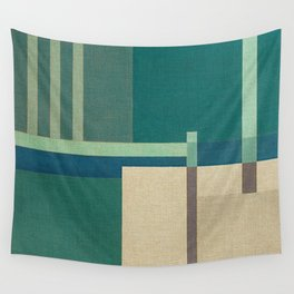 Container Stacking 1 Wall Tapestry