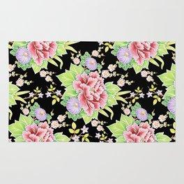 Kimono Bouquet Chintz Rug