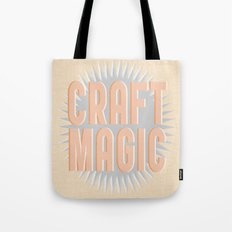 Craft Magic // Coral Tote Bag