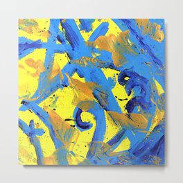 Abstract Is This It Metal Print