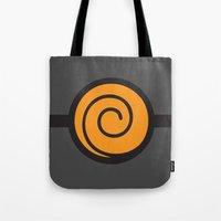 naruto Tote Bags featuring Naruto Suit by bivisual