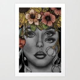Taylor Ray Art Print