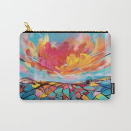 Abstract landscape #2 Carry-All Pouch