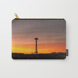 Space needle Sunset Carry-All Pouch