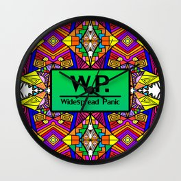 WP - Widespread Panic - Psychedelic Pattern 1 Wall Clock