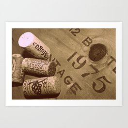 Unboxed Uncorked and Drunk Art Print
