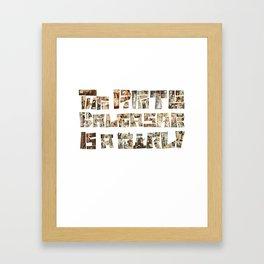 The Pirate Balthasar is a girl! Framed Art Print