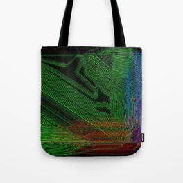 Green Slug Tote Bag