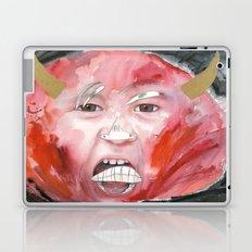 I feel angry Laptop & iPad Skin
