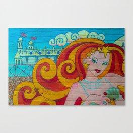 Lady Summer Canvas Print