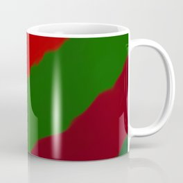 Red and Green Christmas Gift Coffee Mug