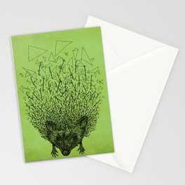 Thorny hedgehog Stationery Cards