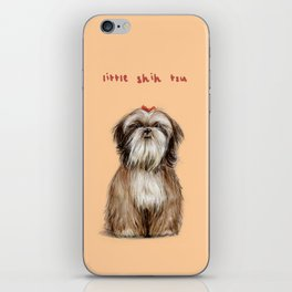 Shih Tzu iPhone Skin