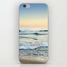 Serenity sea. Vintage. Square format iPhone Skin