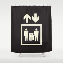 Erebētā Shower Curtain