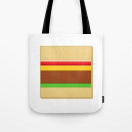 Box Hamburger Tote Bag