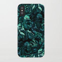 TROPICAL GARDEN XII iPhone Case